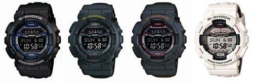 c80eb83e47a650 Najnowszy GLS-100 posiada również coraz rzadziej spotykany, materiałowy  pasek. Aktualnie, to jedyny taki model w całej kolekcji G-SHOCK.