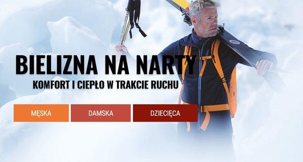 cfb28ece65167a Termoaktywna bielizna na narty w promocyjnych cenach w Skalniku ...